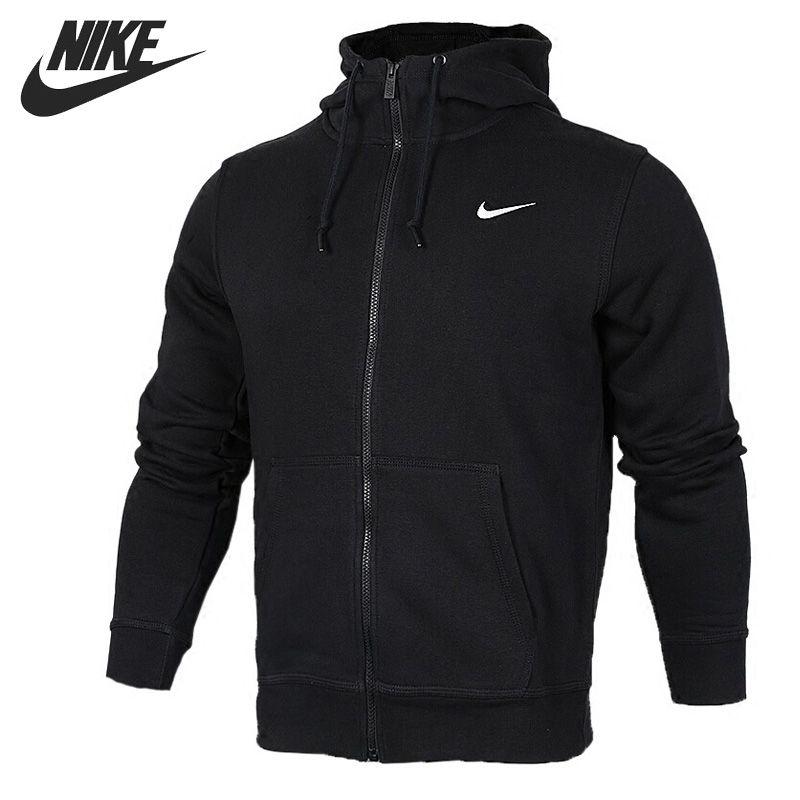 Original New Arrival NIKE CLUB FZ HOODY SWOOSH-N Men's Jacket Hooded Sportswear