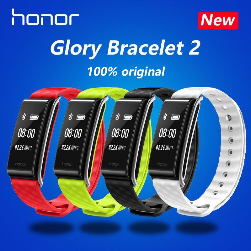 New original HUAWEI Honor lecture Bracelet A2 durée, exercice, surveillance de la fréquence cardiaque Pour Android xiaomi Bracelet 2 IOS