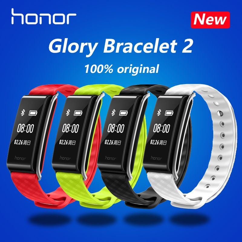 New original HUAWEI glory Glory play Bracelet A2 Running time, exercise, heart rate monitoring For Android xiaomi Bracelet 2 IOS