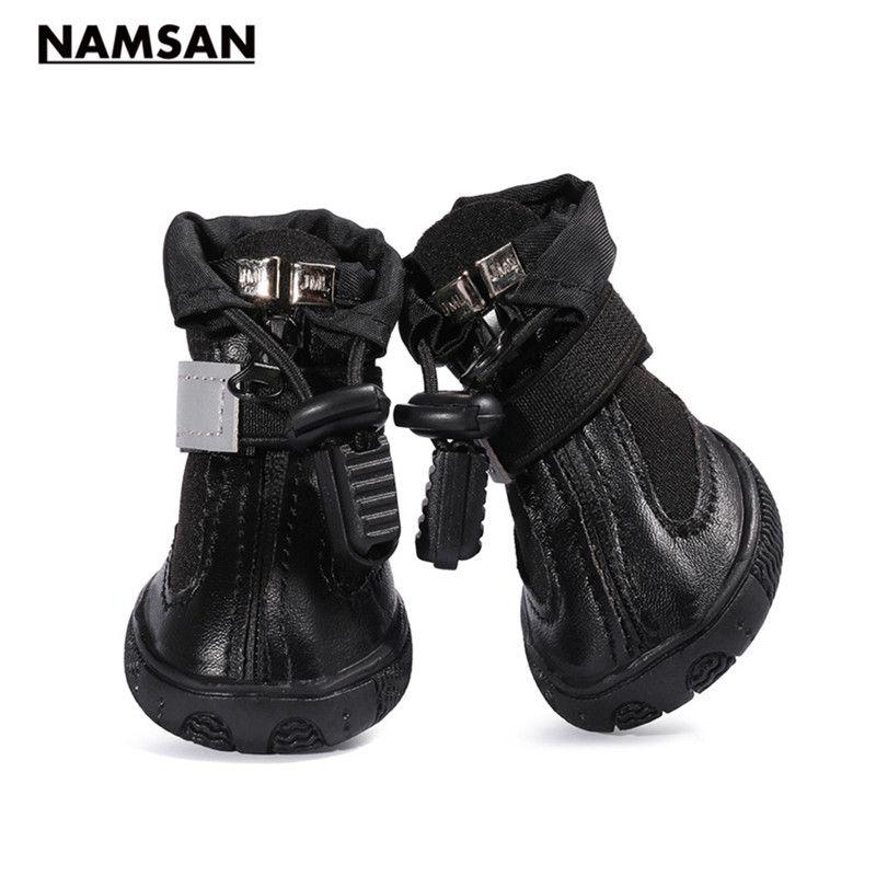 Namsan Nueva Mascota perro Suave y cómodo anti-nieve desgaste durable zapatos Para Perros Grandes