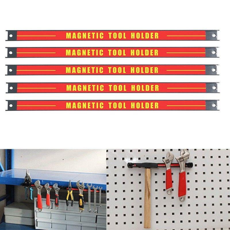 8 11 14.5 18 24 porte-outil magnétique Bar organisateur Rack de stockage couteau clé pinces à main outil de stockage
