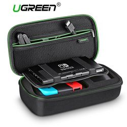 Ugreen Storage Bag for Nintend Nintendo Switch Case Durable Carrying Pouch Case for Nintendo Switch Game Accessories Bag