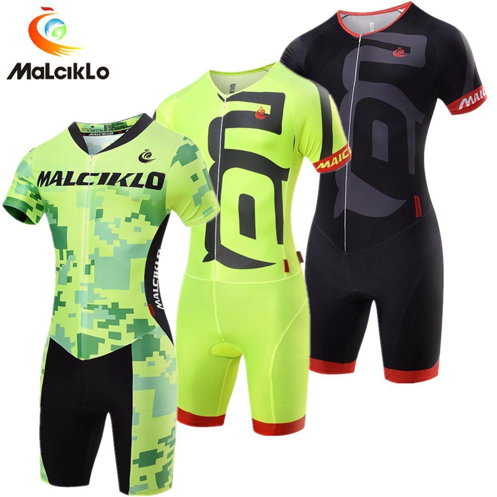 Pro Équipe Cyclisme Jersey Skinsuit Salopette de combinaison de triathlon Hommes Maillot Cyclisme Vêtements Ropa Ciclismo vélo de course ensemble pour le sport