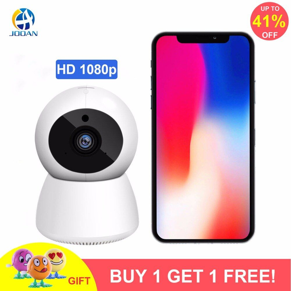JOOAN Wireless Camera wifi 1080P Security IP Camera Network Video Surveillance 10m Night Vision CCTV Home Camera Baby Monitor