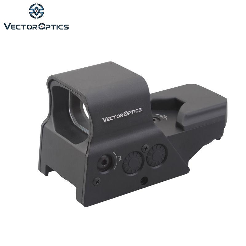 Vector Optics Omega 1x Taktische Solar Reflex 8 Absehen Red Dot Anblick-bereich UNS Design in High-End-Qualität fit für. 223 AK74 12ga