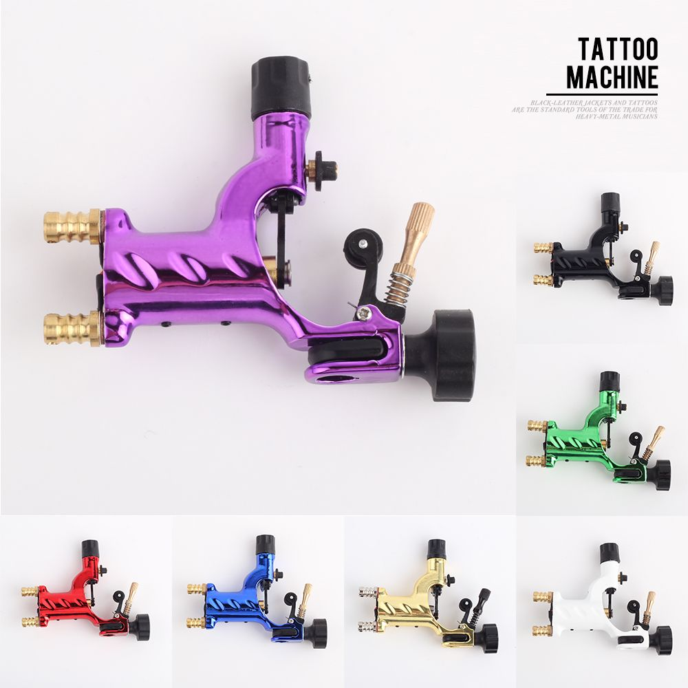 YILONG Libellule Machine À Tatouer Rotary Shader & Liner 7 Couleurs Assorties Tatoo Motor Gun Approvisionnement de Kits Pour Les Artistes