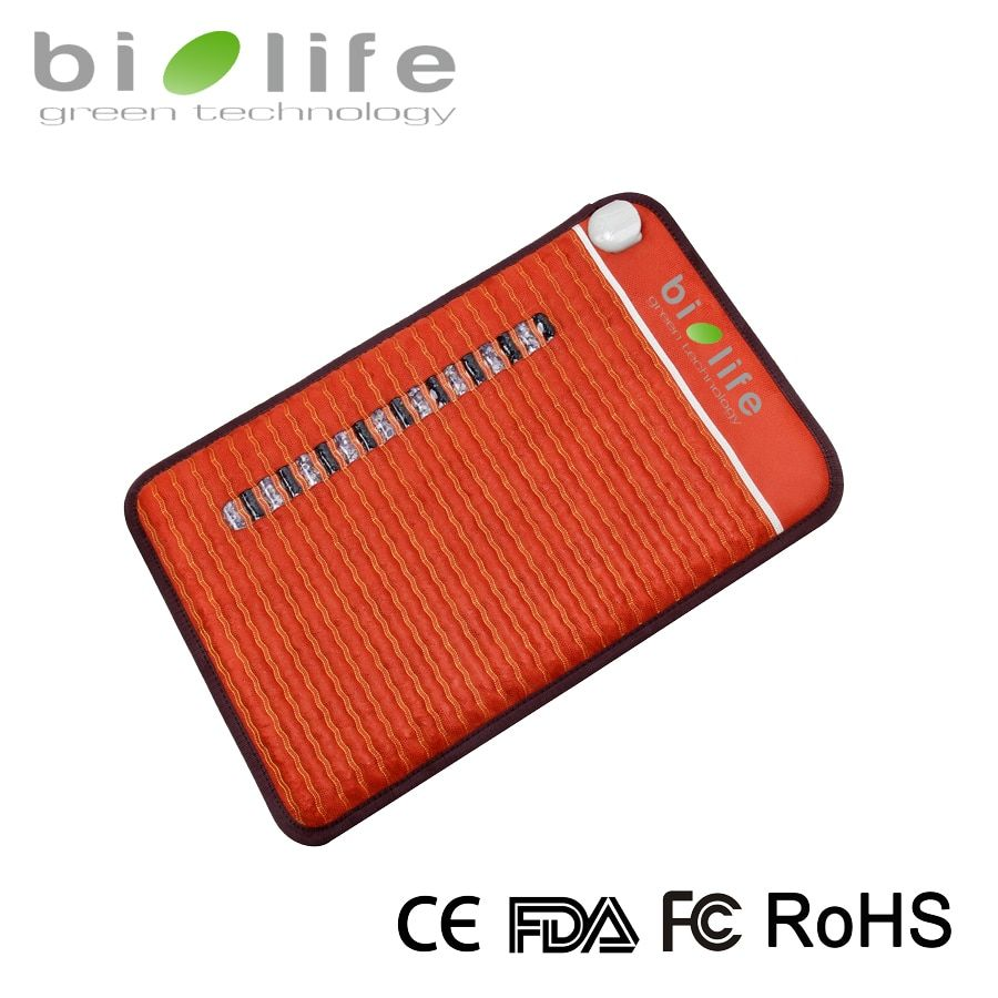 NON-EMF Thermal Therapy Crystal Mattress Far Infrared Negative ions Biomat Amethyst mat