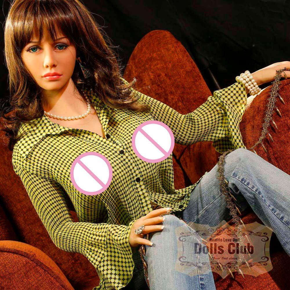 2017 echt Silikon Sex Dame Puppe 165 cm Liebespuppe Silikon Einheit körper Mund Vagina Anal Lebensechte Echt Erwachsene Liebe Engel Spielzeug