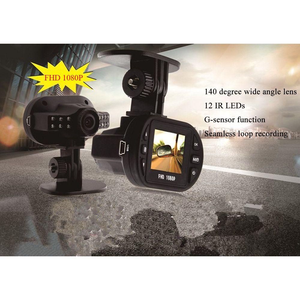 Novatek Full HD 1080 Car DVR Vehicle Camera Video Recorder dash cam Camcorder IR Night Vision Motion Detection Car detector