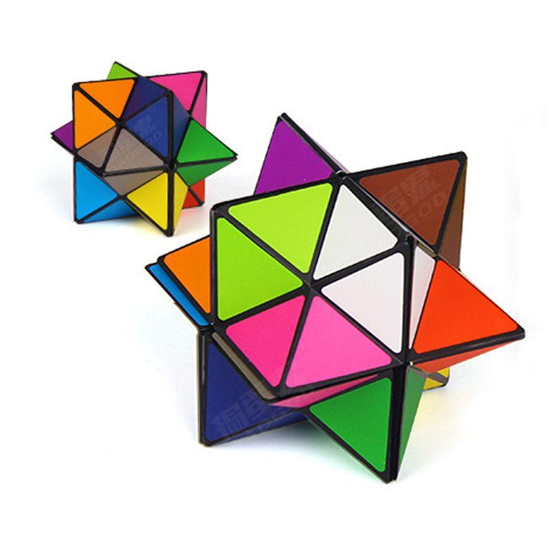 2 unids/set Infinita Fidget Descompresión Cubo Mano Gire Giro Colorido Cubo Mágico Juguete Para Niños Juguetes de Escritorio # E