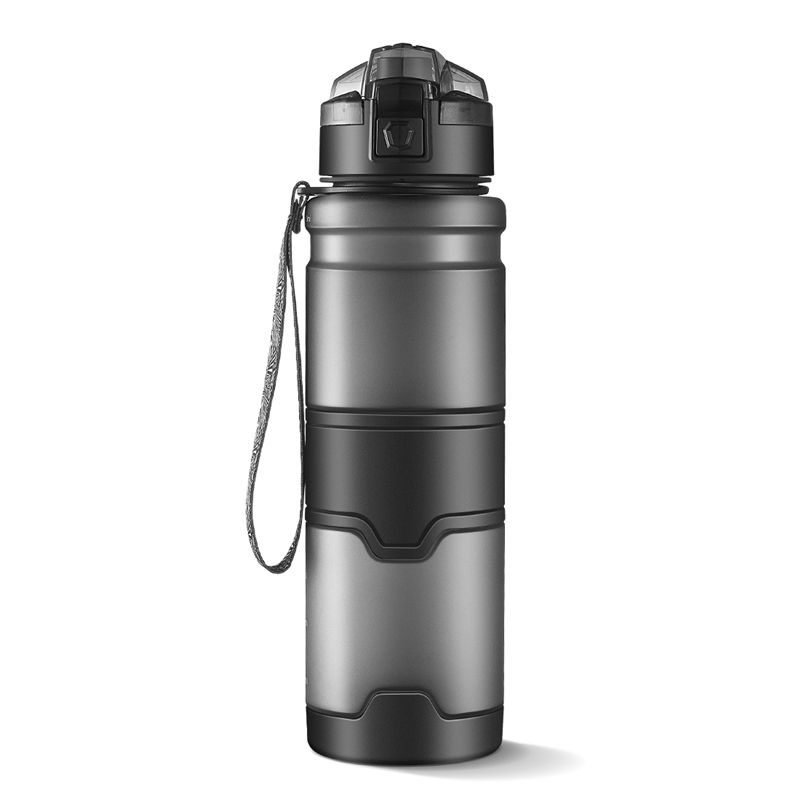 Multiple Specifications 1000ml Plastic Sport Water Bottle BPA Free Leakproof Drinking Bottle For Water With Rope Portable Tumble