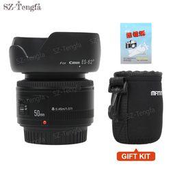 YONGNUO YN 50mm Lens fixed focus lens EF 50mm F/1.8 AF/MF lense Large Aperture Auto Focus Lens For Canon DSLR Camera