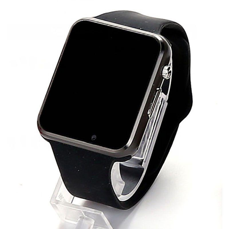 Livraison directe A1 montre intelligente SIM montres téléphone caméra smartwatch podomètre moniteur de sommeil SMS rappel d'appel pour Android