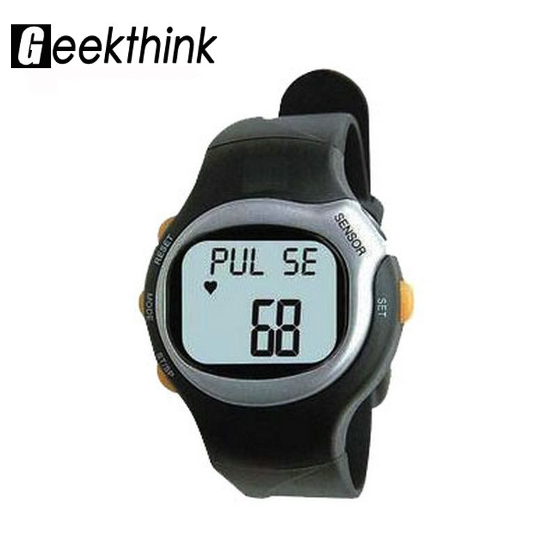 6 in 1 Digital Sport Watches Pulse Heart Rate Monitor Calorie counter led fitness wristwatch man woman clock 2017 New SALE