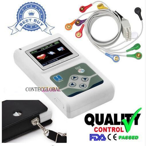Contec TLC5000 Hand-held Holter Monitoring Recorder System CE FDA Certified