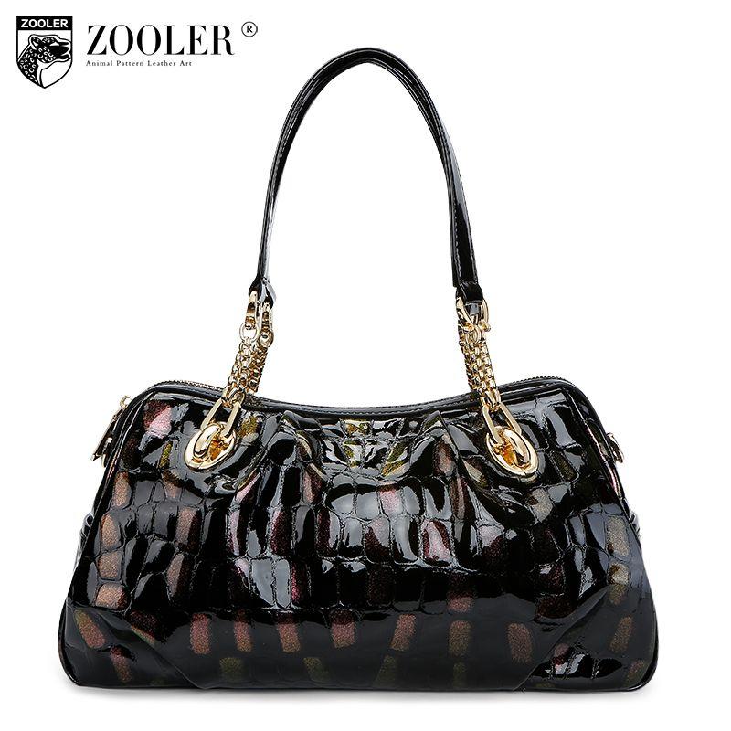 ZOOLER Brand genuine leather bag for women leather bag female women's handbags fashion shoulder bags messenger bags designer1066