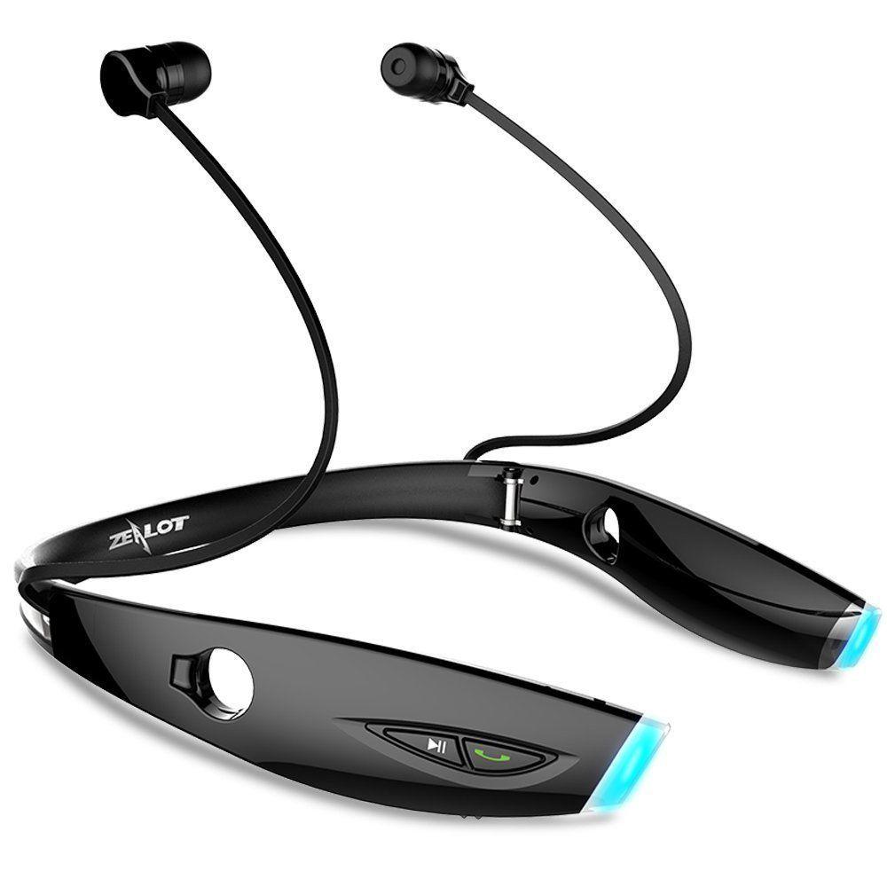 Zealots H1 pli anti-transpiration casque sans fil Bluetooth casque Bluetooth écouteur fone de ouvido mains libres pour téléphone portable