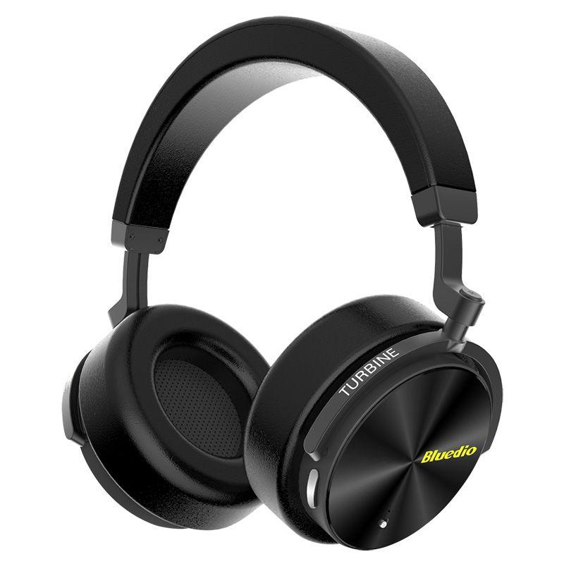 Bluedio 2018 New Bluetooth headset T5 wirless headphone with ANC