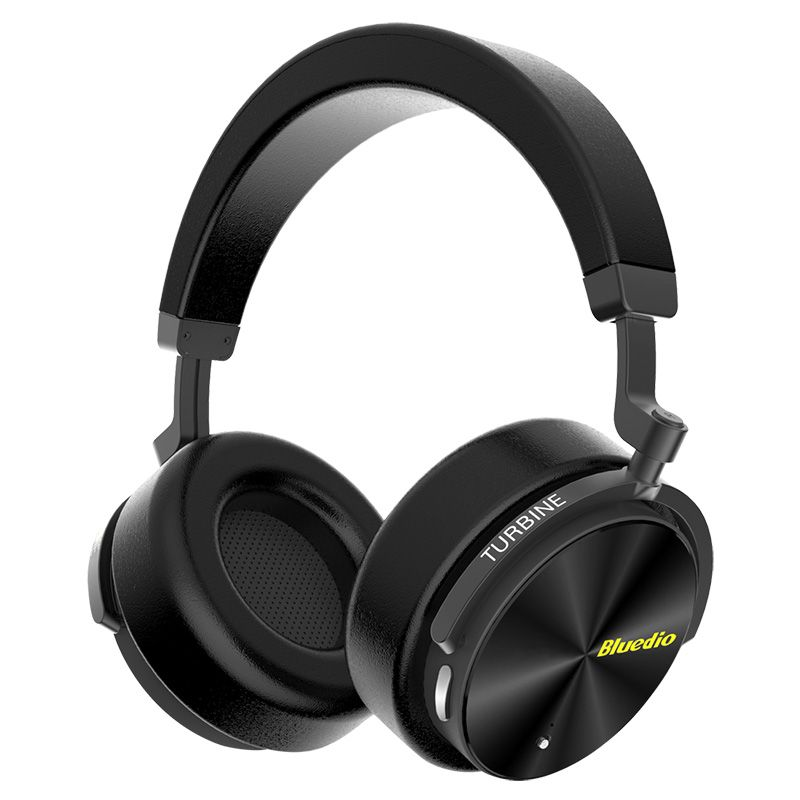 Bluedio HiFi Bluetooth Headphone T5 Wireless Headsets Active Noise Cancelling headphones With Microphone for phones