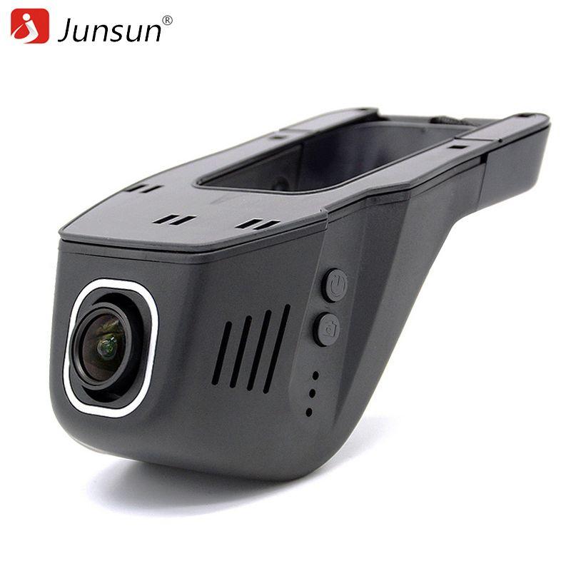 Junsun Car DVR Camera Video Recorder WiFi APP Novatek 96655 IMX 322 dvr FHD 1080p Registrator Night Vision Dash Cam