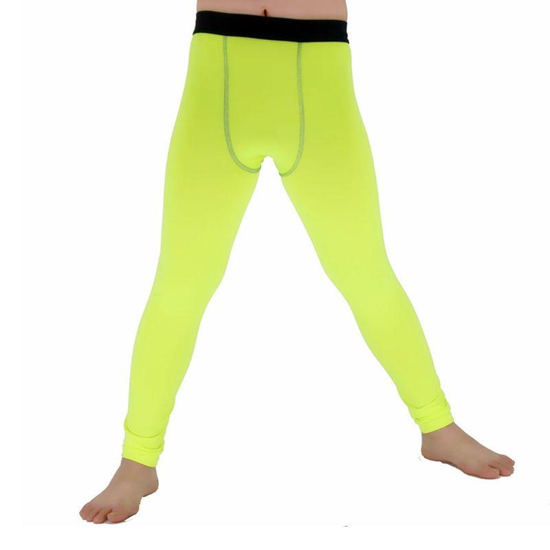 Kinder Kind Engen Hosen Kompression Basis Schicht Hohe Elastische Hosen Fitness Hose Dünne Strumpfhosen Leggings F50