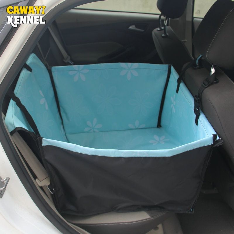 CAWAYI KENNEL Sunflower Pet Dog Cat Waterproof Oxford Car Seat Cover Mat Blanket Rear Back Pets Hammock Cushion Protector U0869