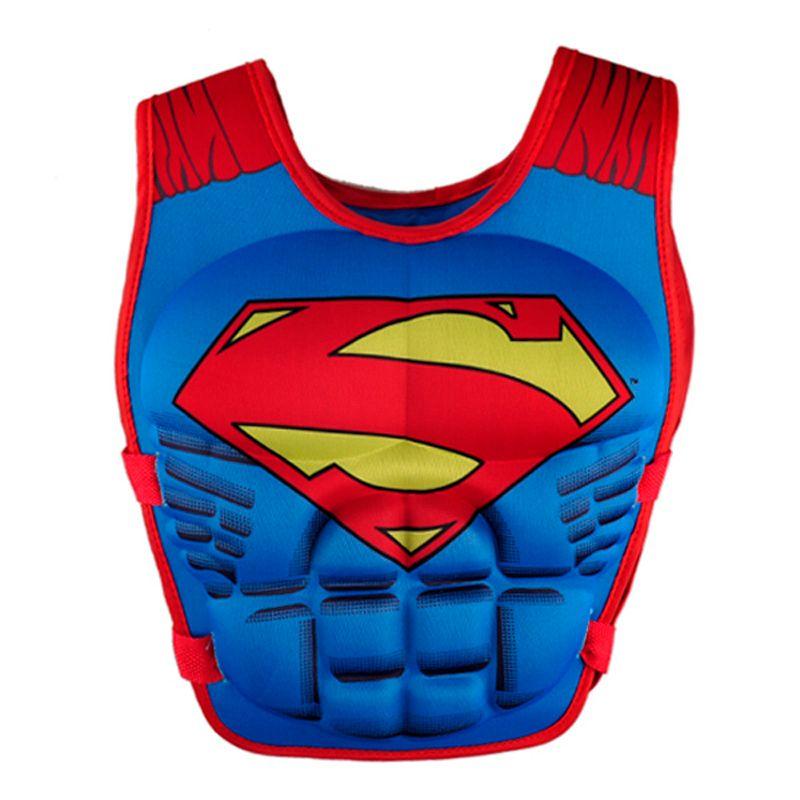 Nouvelle vie veste gilet Superman batman spiderman de natation bébé garçons filles de pêche super-héros de natation cercle piscine accessoires anneau