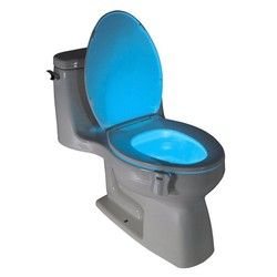 Luz led noche luz Luz de sensor de movimiento humano asiento automático aseo baño tazón lámpara
