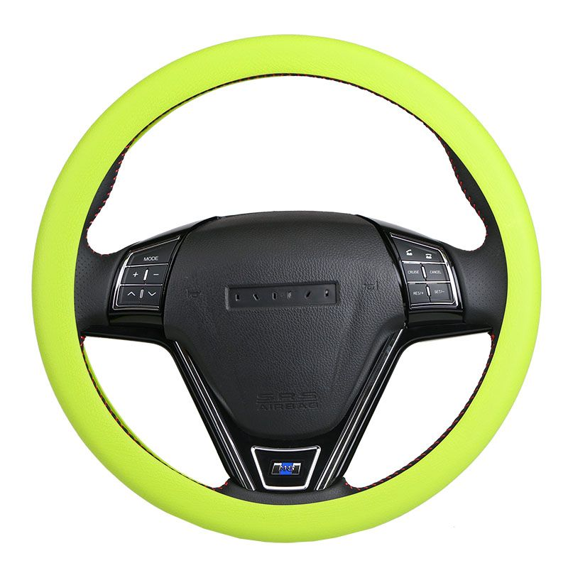 New Personalise Stretch Steering Wheel Covers /Universal Skid Soft Silicone Steering Wheel Cover  Auto Supplies 9 Colors