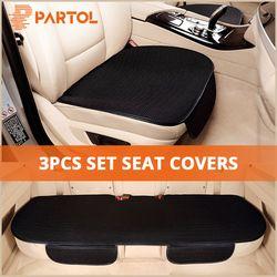 Partol Универсальный Автомобильный чехлов дышащий протектор Авто сиденье спереди и сзади автомобильные сиденья Подушка Мат аксессуары