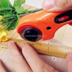Nouvelle École Outil De Coupe Rotatif Cutter Premium Quilteuses À Coudre Quilting Tissu 45mm De Coupe Outil de Métier