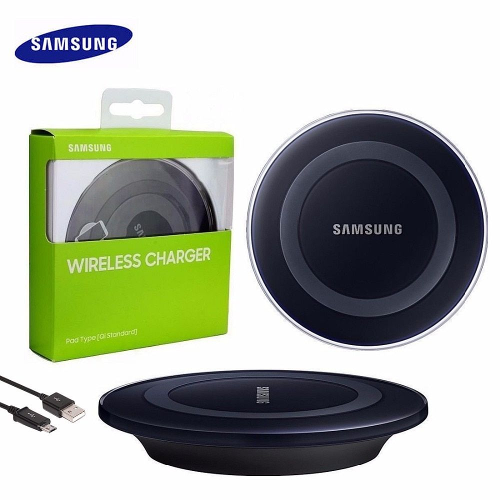 Samsung Wireless Charger, Original QI Charging Pad for Samsung Galaxy S6 S7 S7 Edge Note 5 Note 8, EP-PG920I with cable