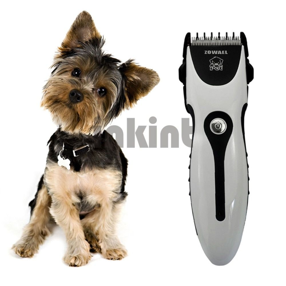 <font><b>Rechargeable</b></font> Cat Dog Hair Trimmer Electrical Pet Hair Clipper Remover Cutter Dog Grooming Pet Product Haircut Machine RCS06Q 37