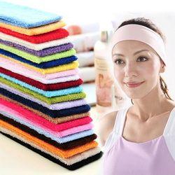 Frauen Absorbieren Schweiß Yoga Stirnband Elastizität Turban Sport Schweiß Haar Bands Stretch Stirnband Headwear Haar Zubehör