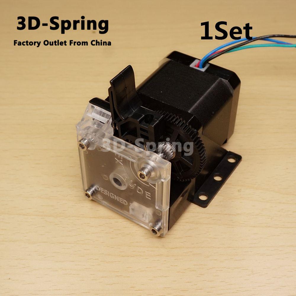 1 Set Titan Extrudeuse pour 3D imprimante reprap MK8 J-tête bowden En Option Prusa i3 de montage support de haute qualité