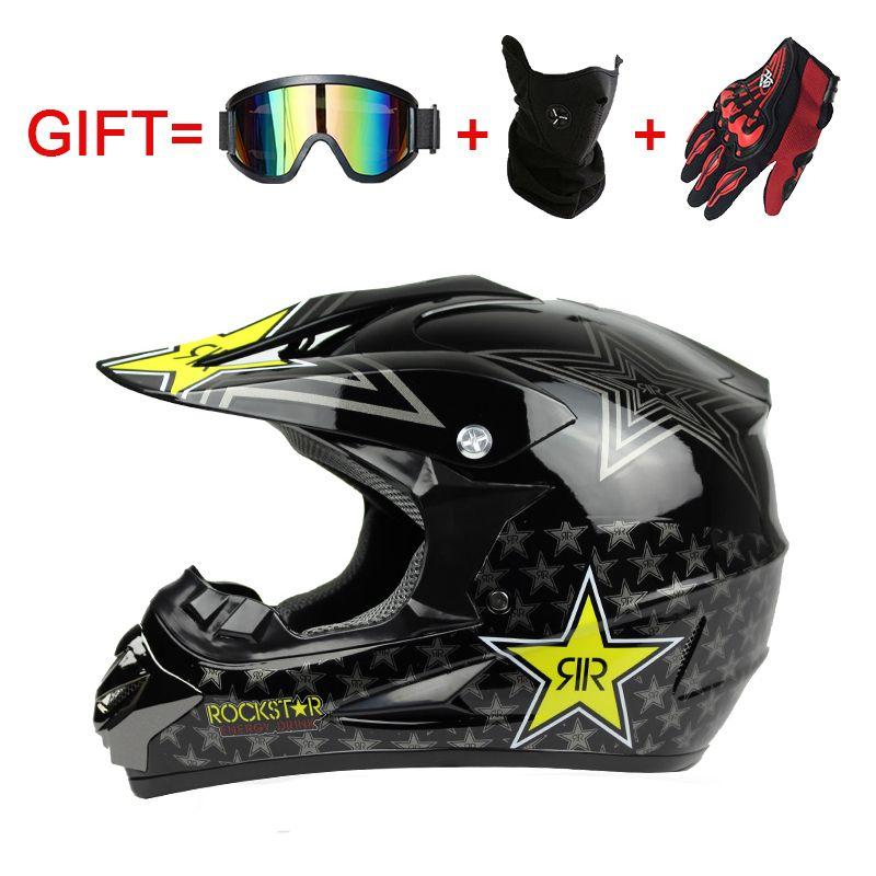 Moto équipement de protection moto casque Cross-Country type ABS matériaux Professionnel motocross vitesse Casque WLT-125