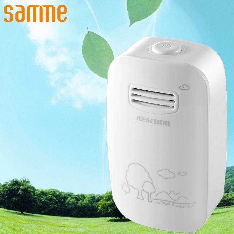 Purificateur d'air maison ioniseur générateur Mini ozonateur Air ioniseur désinfecter stérilisateur purificateur d'air frais enlevé fumée poussière pm 2.5