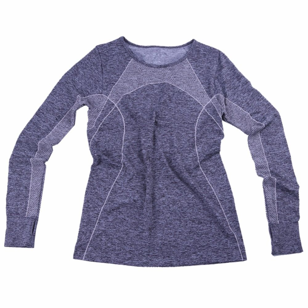Codysale Для женщин сжатия Рубашки для мальчиков одежда с длинным рукавом Фитнес футболки тренировки одежда для женские эластичные толстовка ...