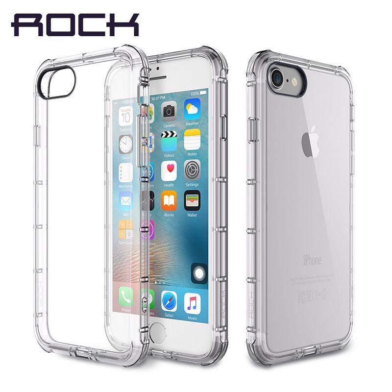 Cas pour iPhone 7/7 Plus Cas Original ROCK Clôture Série Anti Drop coup Protection Marque Téléphone Cas pour iPhone7 Couverture