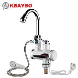 3000 Вт моментальный Электрический Душ водонагреватель мгновенный горячий кран кухонный Электрический кран водонагреватель Мгновенный вод...