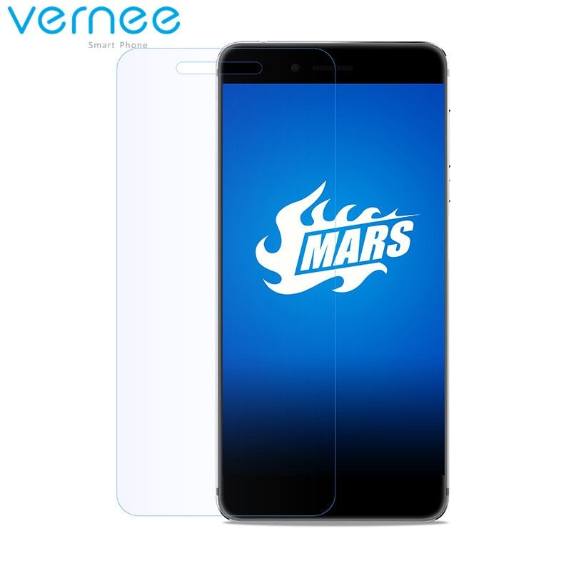 vernee Mars Tempered Glass Screen Protector Original HD Clear Protective Glass Film For vernee Mars Smartphone Film