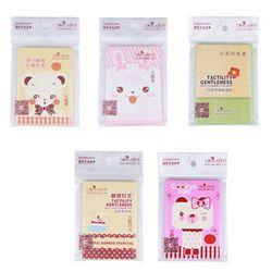 1 paquete caliente mujeres Facial Control de aceite película absorbente pañuelos de papel pulpa maquillaje Blotting papeles al por mayor estilo al azar