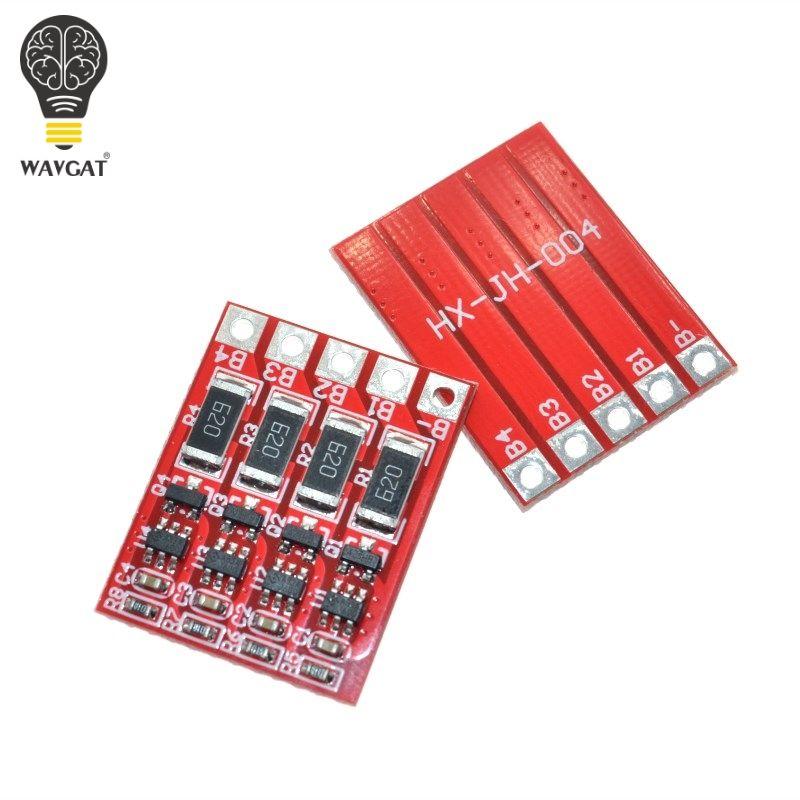 WAVGAT 4 S BMS Schutz Bord mit Balance für 4 s zelle 3,2 V lithium-eisenphosphat-batterie