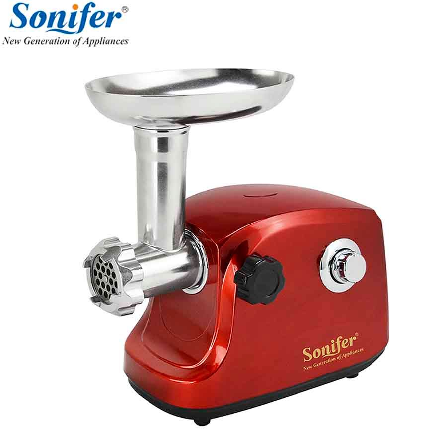 <font><b>1500W</b></font> Colorful Home Electric Meat Grinder Sausage Stuffer Mincer Heavy Duty Household Mincer Sonifer