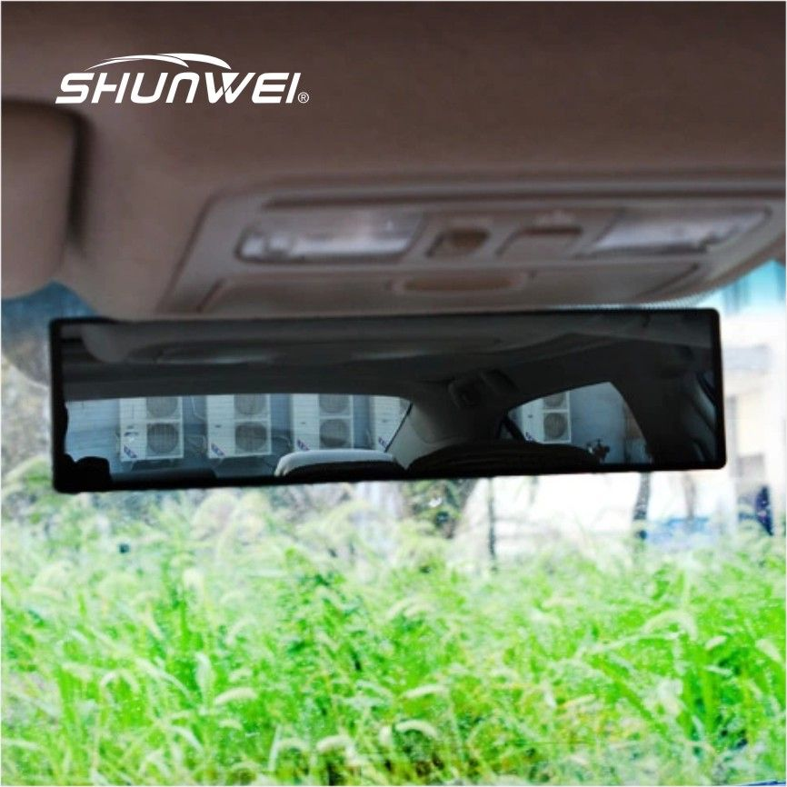 Universal Large Vision Car Proof Mirror Outlook Interior Car Wide Angle Interior Rearview Mirror Surface Endoscope