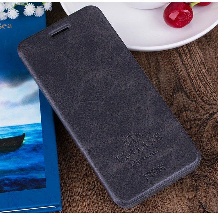 Mofi pour Xiaomi Redmi Note 4 étui en cuir PU pour Xiaomi Redmi Note 4 Pro 5.5 ''couverture de support en cuir de Style livre