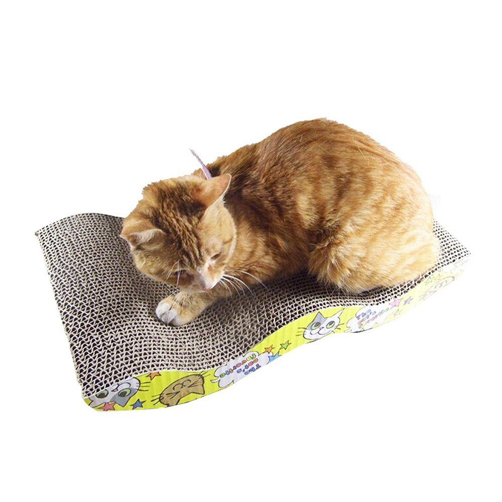 Mastone Scratcher avec Cataire Chat Salon Main Chats Chaton Scratcher Griffoir Jouet Interactif Pour Pet Chat Formation
