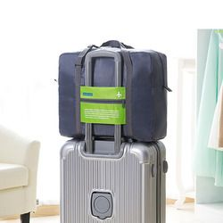 Mode Casual Femmes Voyage Sacs En Nylon Zip Étanche Week-End Voyage Portable Sac Bagages Polochon Sacs sac de voyage