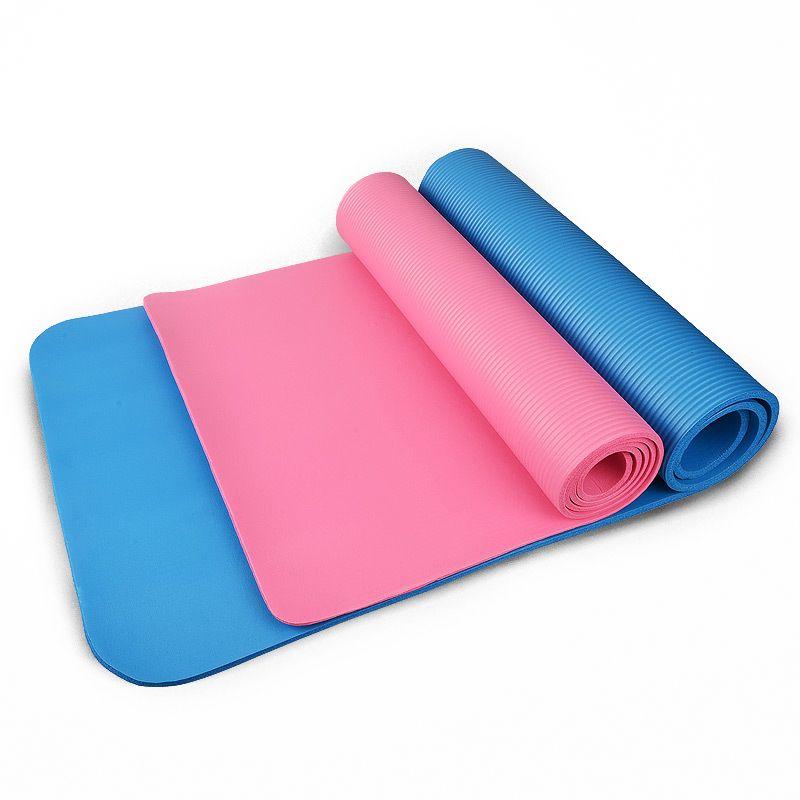 3 farben Outdoor 4 MM Faltbare Übung Yoga-Matte schlüpfen Dicke Pad Fitness Pilates Matte Fitness