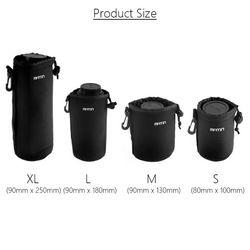 Wasserdichte Universal Matin Neopren-weiche Video Camera Lens Pouch Tasche Fall volle Größe S M L XL Für Canon Nikon Sony Objektiv Wholesal
